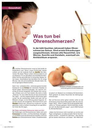 Ohrenschmerzen Düsseldorf Diagnose