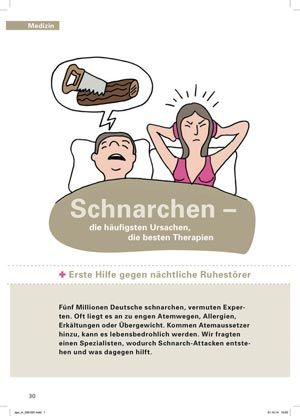 Schnarchen Ursache Therapie Diagnose